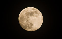 Moon on the dark Stock Images
