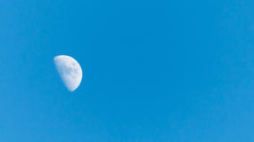 The moon during the day Royalty Free Stock Photo