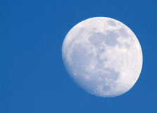 Moon at day Royalty Free Stock Photography