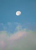 Moon daytime Stock Photos