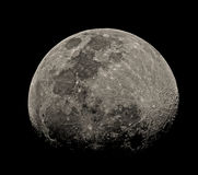 The Moon in detail Royalty Free Stock Photo