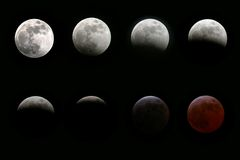 Free Moon Eclipse Stock Photography - 2790962