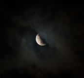 Moon eclipse Stock Photography