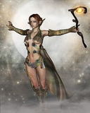 The moon fae Royalty Free Stock Images