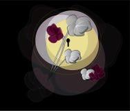 Moon flowers Stock Photo