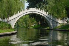 Moon Gate. In Beijing, China Royalty Free Stock Photos