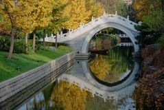 Moon gate. In a park of Beijing,China Stock Image