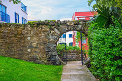 Moon Gate Bermuda Royalty Free Stock Images