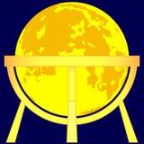 Moon globe Royalty Free Stock Photo