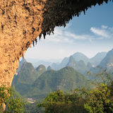 Moon hill arch Royalty Free Stock Photo