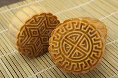 Moon Kuchen des vietnamesischen chinesischen mittleren Herbstfestivallebensmittels Lizenzfreies Stockfoto