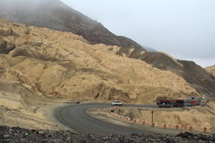 Moon Land In Ladakh-2. stock photos