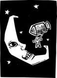 Moon Landing vector illustration