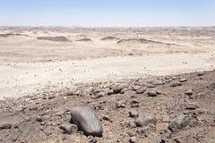 Moon landscape, namibia Stock Images