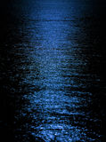 Moon light reflection Stock Images