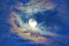 Moon light Royalty Free Stock Image