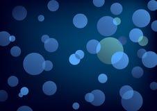 Moon light, vector. Moon light, blue blending circles stock illustration