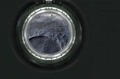 Moon, Mars of alien planet landscape. Stock Image