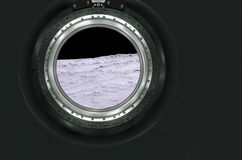 Moon, Mars of alien planet landscape. Stock Photo
