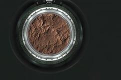 Moon, Mars of alien planet landscape. Stock Photography