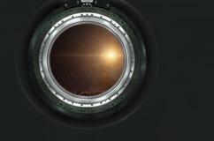 Moon, Mars of alien planet landscape. Royalty Free Stock Photos