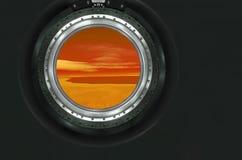 Moon, Mars of alien planet landscape. Stock Images