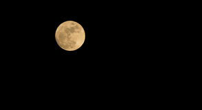 Moon. Month Night evening thailand Royalty Free Stock Photos