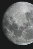 Moon at night Royalty Free Stock Image