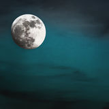 Moon in the night Stock Photos
