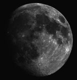 Moon on night sky Stock Images