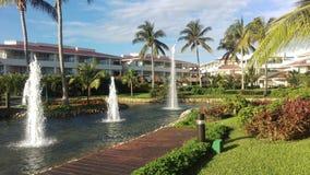 Moon palace hotel Royalty Free Stock Image