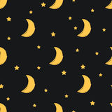 Moon pattern Royalty Free Stock Photo