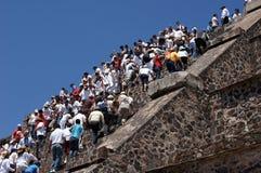 Moon piramid Royalty Free Stock Photo