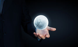 Moon planet Royalty Free Stock Photos