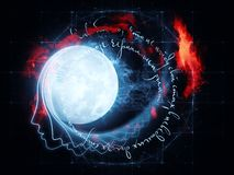 Moon Rhymes Royalty Free Stock Photo