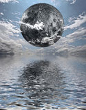 Moon Rise Royalty Free Stock Photo