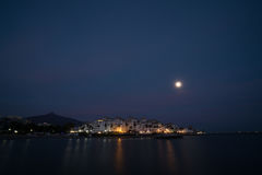 Moon Rise Royalty Free Stock Images