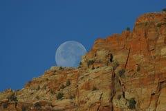 Moon Rising royalty free stock photo