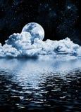 Moon See Lizenzfreie Stockfotos