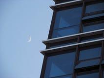 Moon. Shot in Dali,Yunnan,China royalty free stock photography