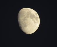 Moon. The moon in the sky Stock Photography