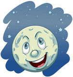A moon Stock Image