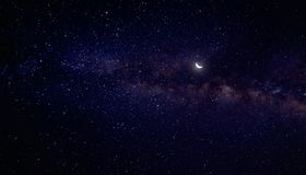 Moon And Stars Stock Images