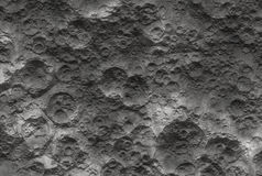 Moon surface. With craters (Background image Royalty Free Stock Photography