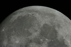 Moon surface Royalty Free Stock Photos