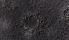 Moon surface Stock Photos