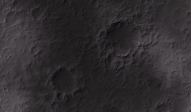 Moon surface Royalty Free Stock Image