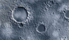 Moon surface. Closeup of moon surface texture Royalty Free Stock Images