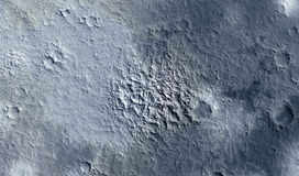 Moon surface Royalty Free Stock Photo