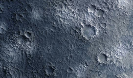 Moon surface Stock Image